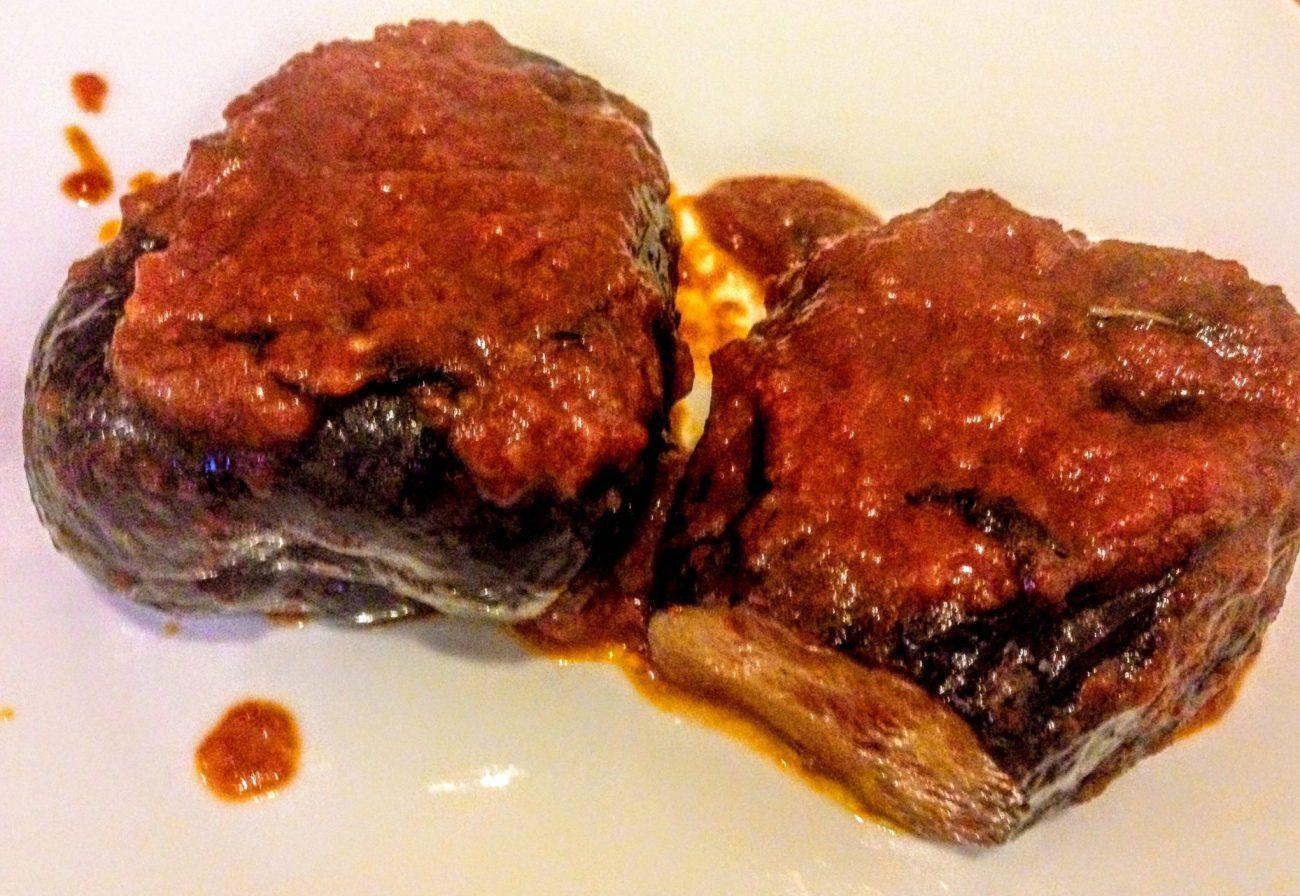 Фаршированные баклажаны с сыром по-сицилийски