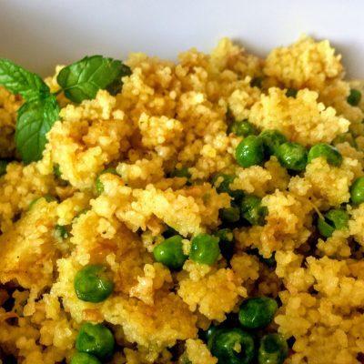 Кускус с тунцом и горошком по-арабски - рецепт с фото