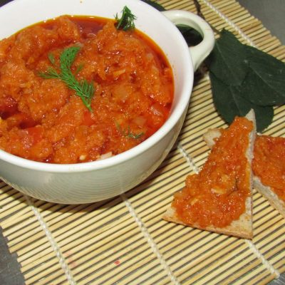 Домашняя кабачковая икра - рецепт с фото