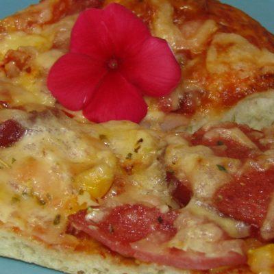 Пицца на воде - рецепт с фото