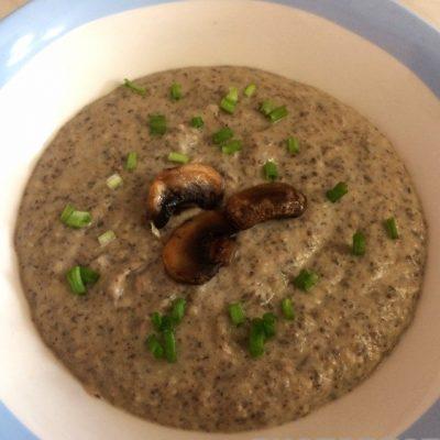 Суп-пюре из шампиньонов с картофелем - рецепт с фото
