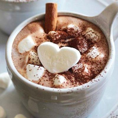 Горячий шоколад с маршмеллоу - рецепт с фото