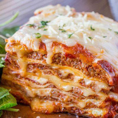Итальянская лазанья - рецепт с фото