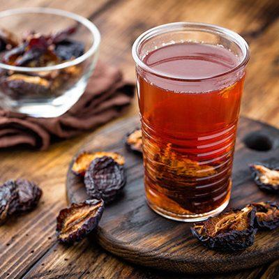 Компот из сушеного инжира и чернослива - рецепт с фото