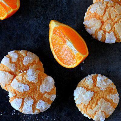 Мягкое апельсиновое печенье - рецепт с фото