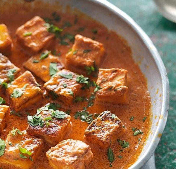 Сыр в пряном соусе, по-индийски