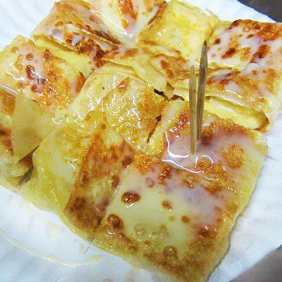 Тайские блины с бананом - рецепт с фото
