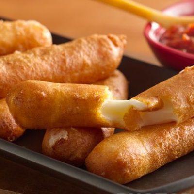 Жареный сыр в кляре - рецепт с фото