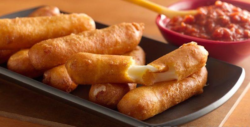 Жареный сыр в кляре
