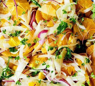 Цитрусовый салат с фенхелем - рецепт с фото