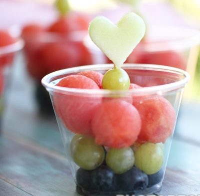 Десерт из ягод и фруктов на праздник - рецепт с фото