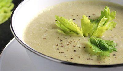 Диетический крем- суп из картофеля с сельдереем - рецепт с фото