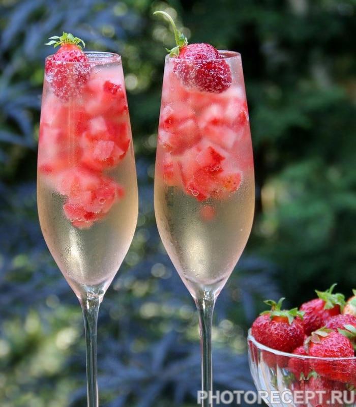 Для клиентов, шампанское с клубникой картинки