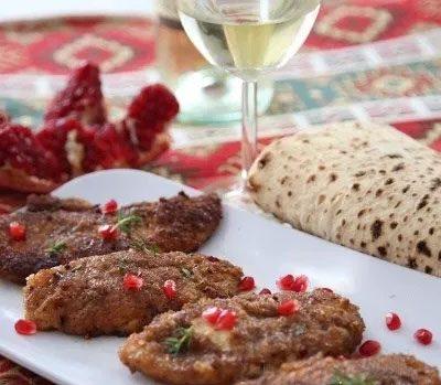 Куриные котлеты по армянскому рецепту - рецепт с фото