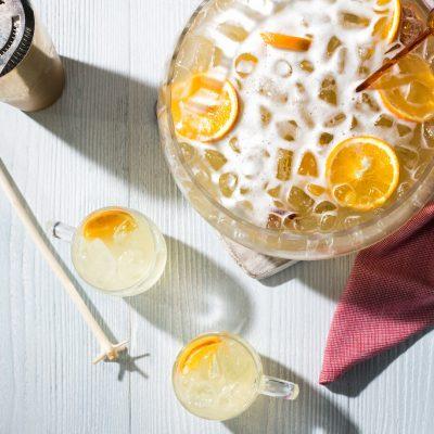 Лимонный щербет с медом и пряностями - рецепт с фото
