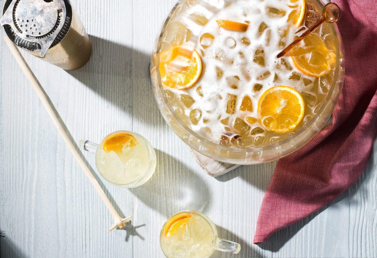 Лимонный щербет с медом и пряностями