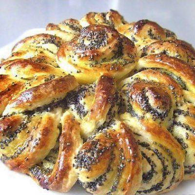 Маковый пирог - рецепт с фото
