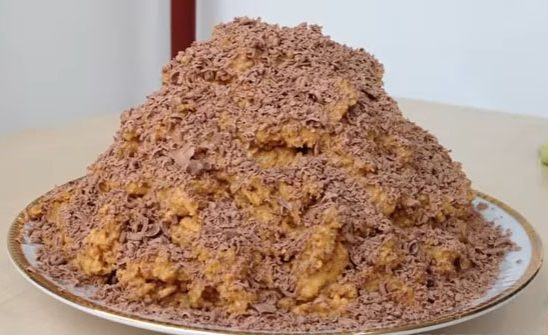 Нежнейший десерт из песочного печенья с шоколадом
