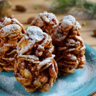 """Печенье – """"Белые еловые шишки"""" - рецепт с фото"""