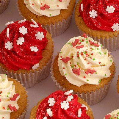 Рождественские кексы - рецепт с фото