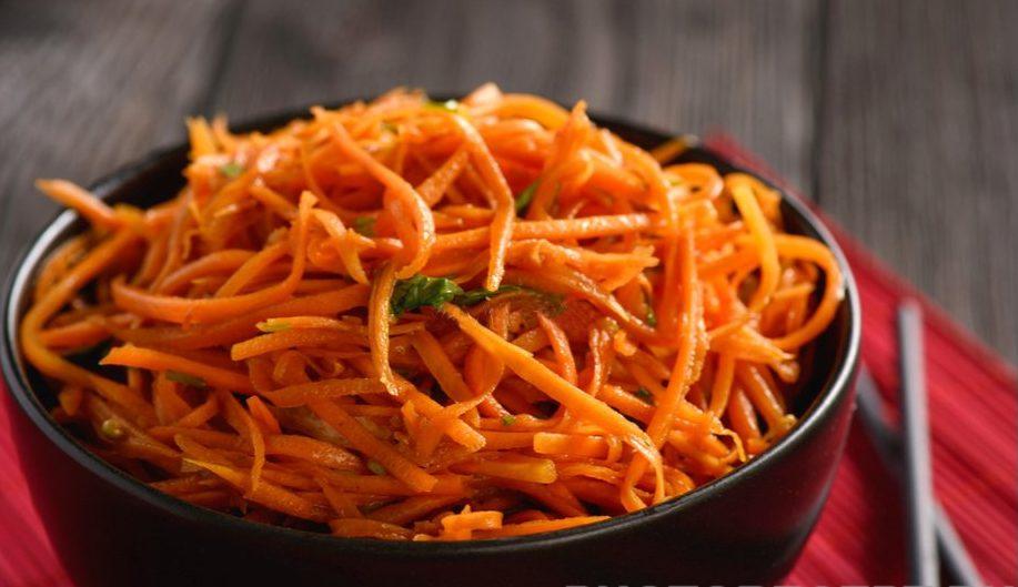 Салат морковь по-корейски