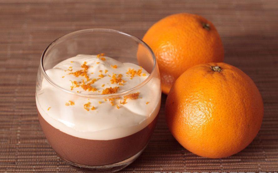 Шоколадно – апельсиновый мусс