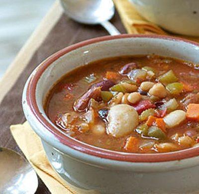 Суп с фасолью - рецепт с фото