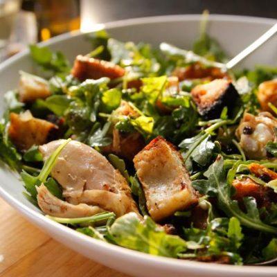 Хрустящий салат - рецепт с фото