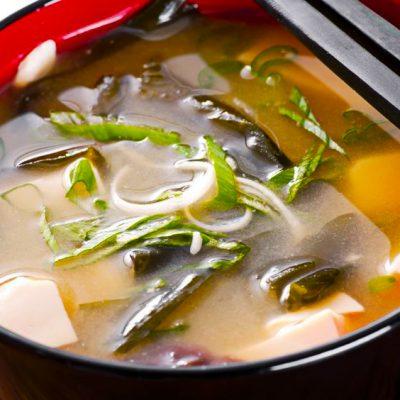 Японский суп с морепродуктами - рецепт с фото