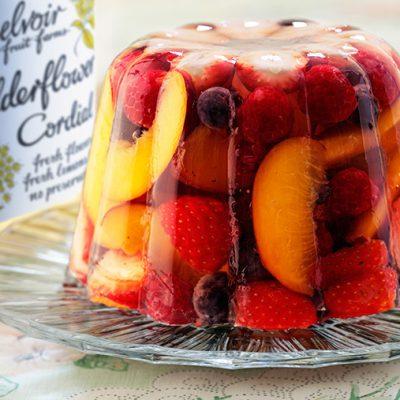 Желе с фруктами - рецепт с фото