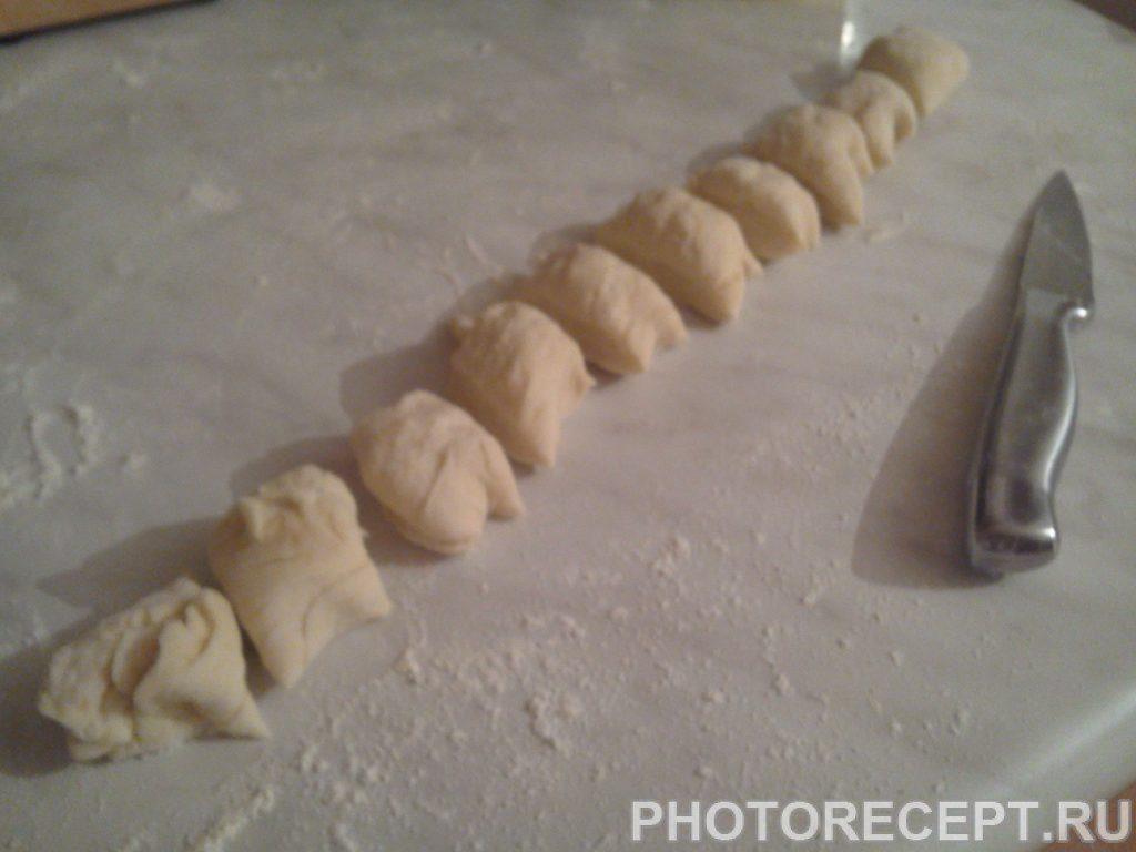 Фото рецепта - Пончики на дрожжах - шаг 3