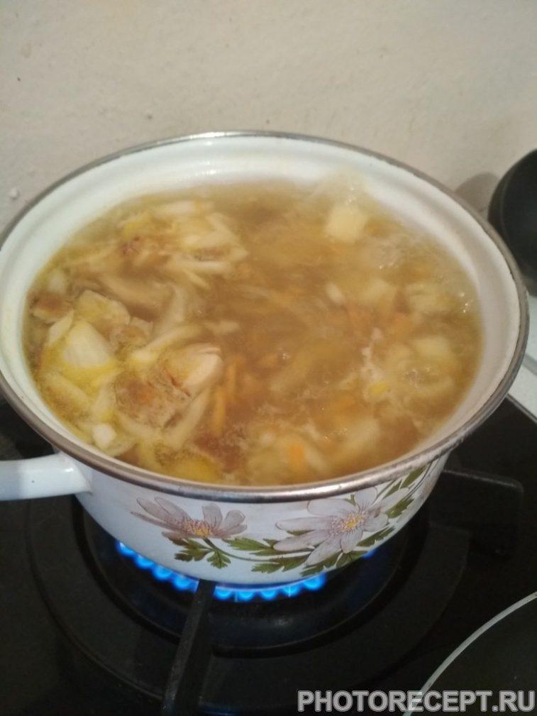 Фото рецепта - Супчик из белых грибов - шаг 5
