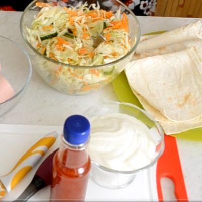 Фото рецепта - Буритос - шаг 1