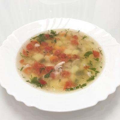 Радужный супчик - рецепт с фото