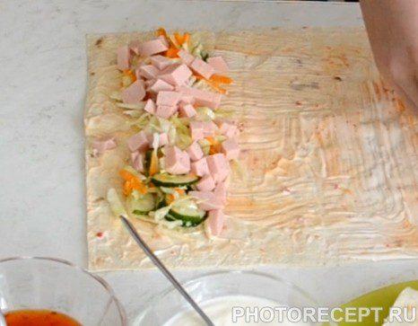 Фото рецепта - Буритос - шаг 4