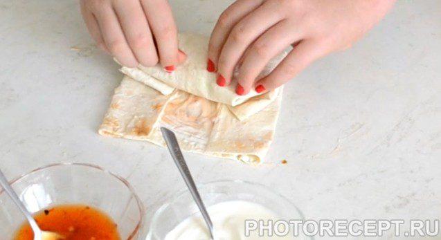 Фото рецепта - Буритос - шаг 5