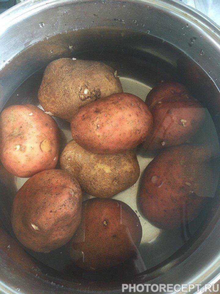 Фото рецепта - Картошечка по-деревенски – вкуснятина - шаг 1