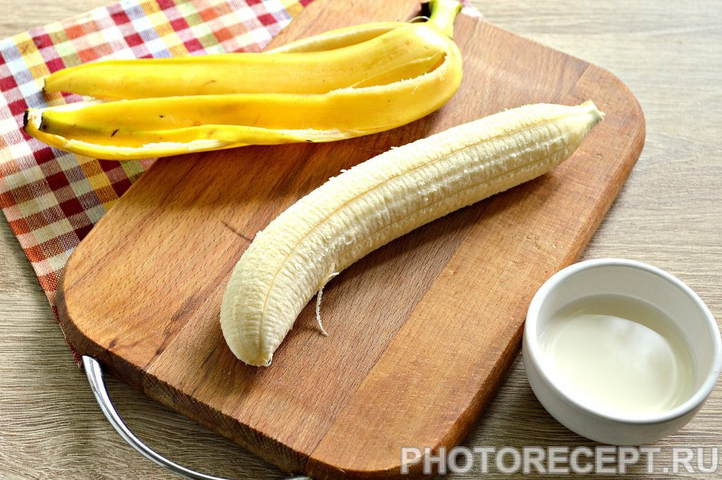 Фото рецепта - Банановое пюре для самых маленьких - шаг 1