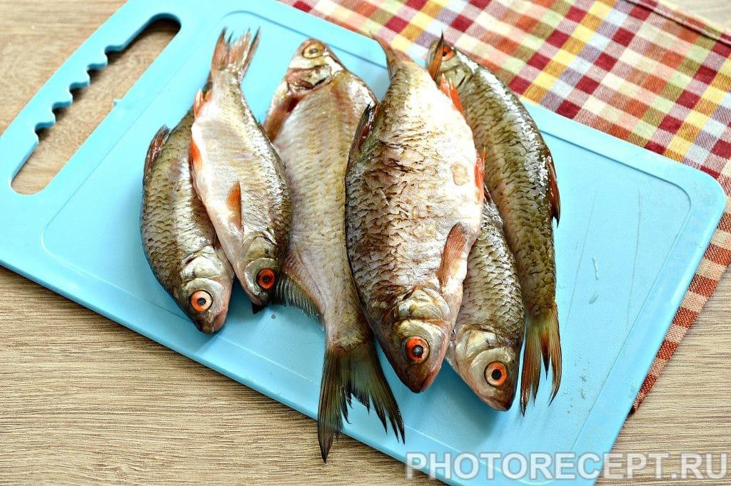 Фото рецепта - Жареная в майонезе речная рыба - шаг 1