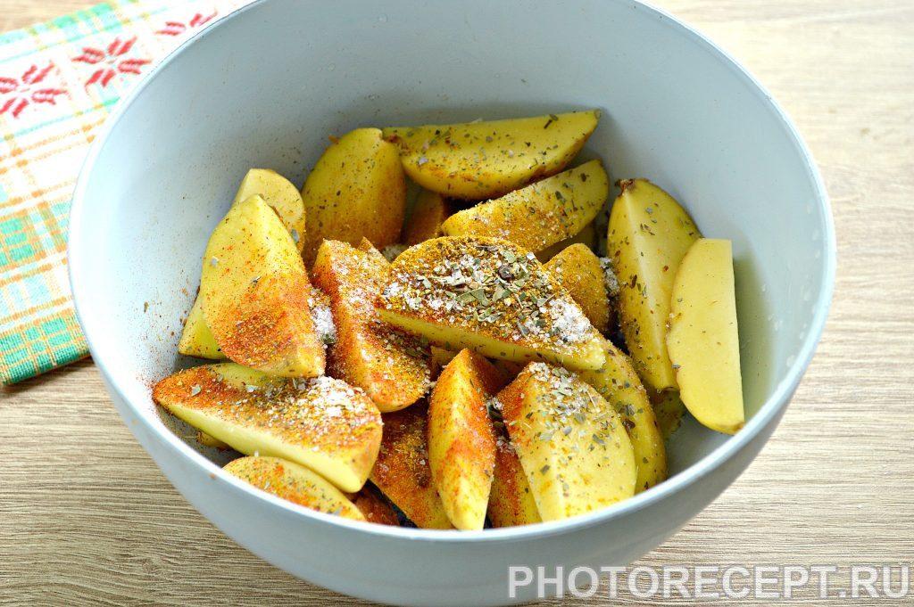 Фото рецепта - Картофель в духовке как в Макдональдсе - шаг 2
