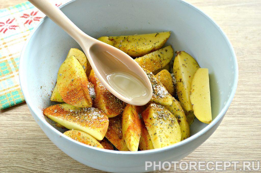 Фото рецепта - Картофель в духовке как в Макдональдсе - шаг 3