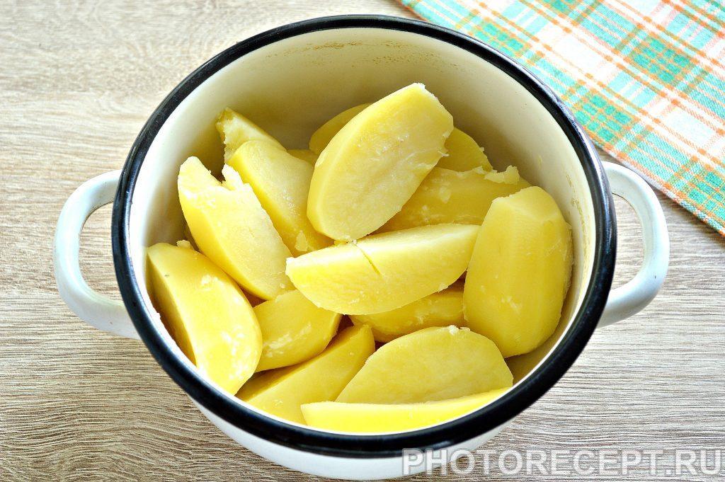 Фото рецепта - Воздушное картофельное пюре на сливках - шаг 3