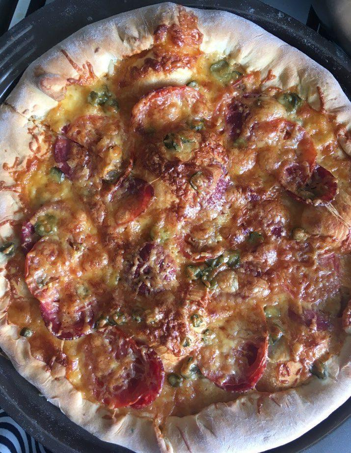 Пицца с сырными бортами – обалденно вкусно
