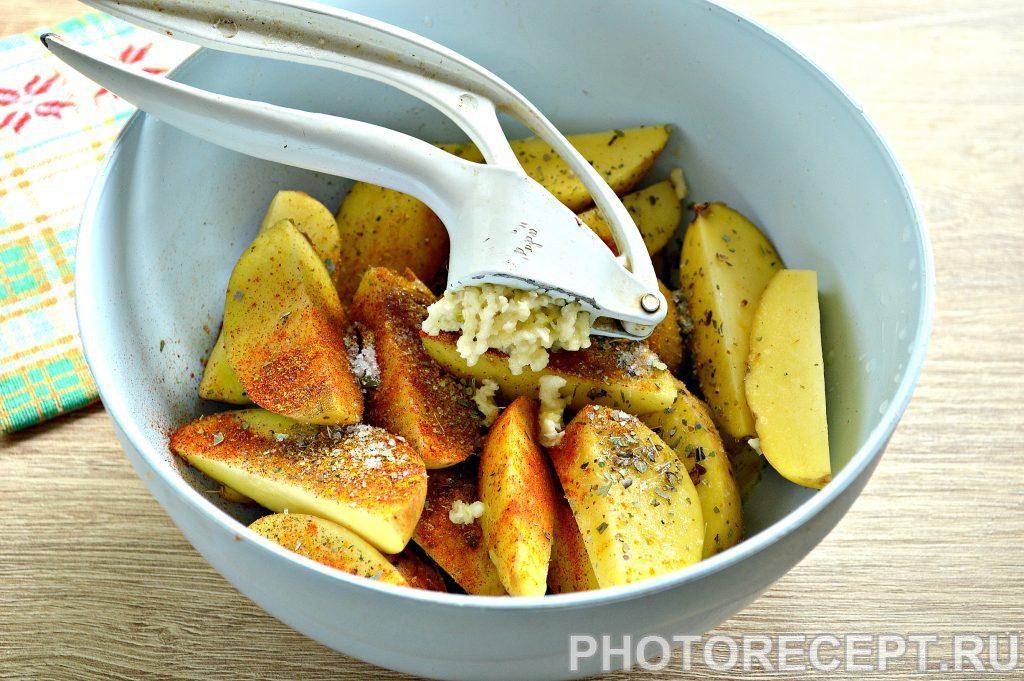 Фото рецепта - Картофель в духовке как в Макдональдсе - шаг 4