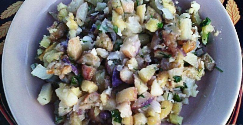 Картофель по-холостяцки