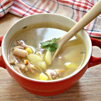 Суп из гуся с вермишелью - рецепт с фото