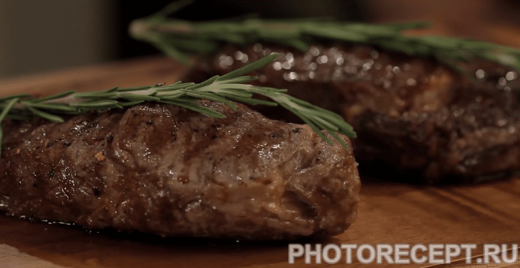 Фото рецепта - Стейк из говядины - шаг 6