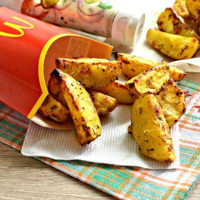 Картофель в духовке как в Макдональдсе - рецепт с фото