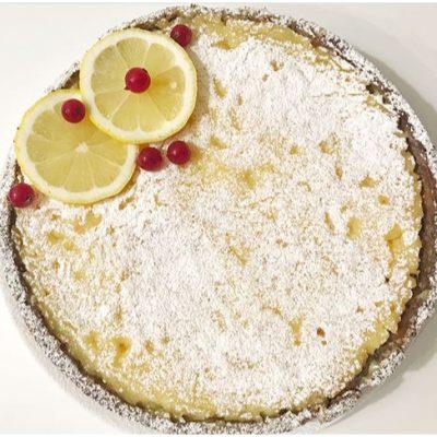 Лимонный пирог - рецепт с фото
