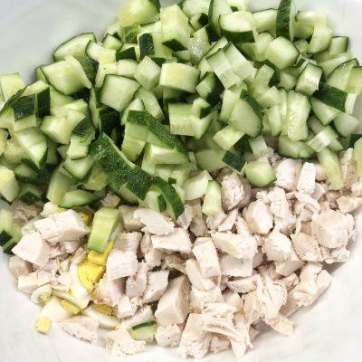 Фото рецепта - Сытный салат - шаг 3
